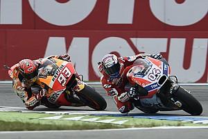MotoGP Son dakika Dovizioso: Üçüncü zafer için mücadele etmek çok riskliydi
