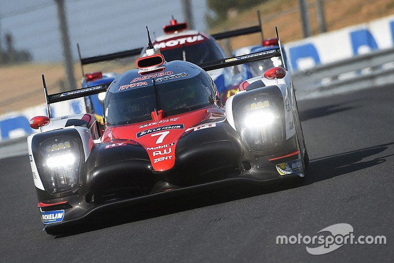 le mans test day toyota beats 2016 pole time in afternoon. Black Bedroom Furniture Sets. Home Design Ideas
