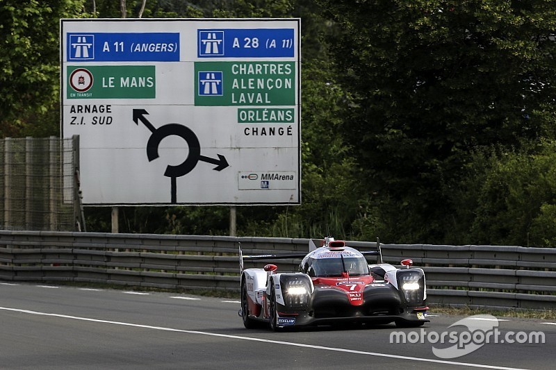Toyota admits to being Le Mans 2017 favourite