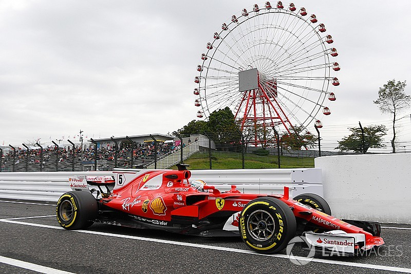 Vettel supera Hamilton e domina TL1 do GP do Japão