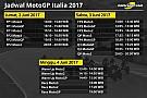 Jadwal lengkap MotoGP Italia 2017