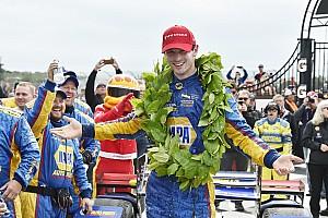 IndyCar Репортаж з гонки IndyCar у Воткінс-Глен: Россі конвертував поул у перемогу