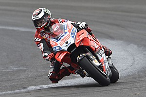 "MotoGP Breaking news Lorenzo ""doing better than last year"" despite poor start"