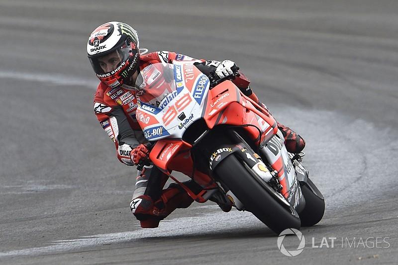 Lorenzo: Apesar de mau começo, estou melhor que em 2017