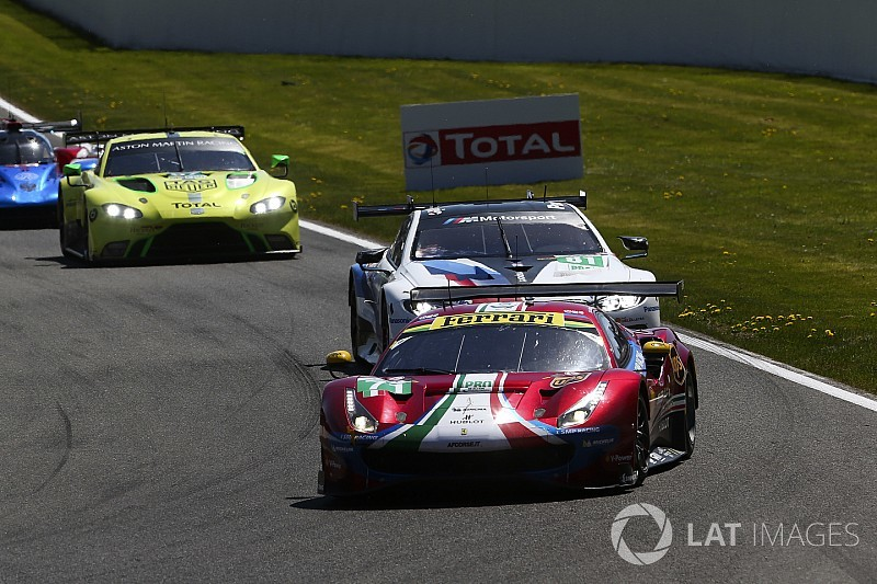 """Ferrari cannot """"delude itself"""" with Spa GTE podium"""