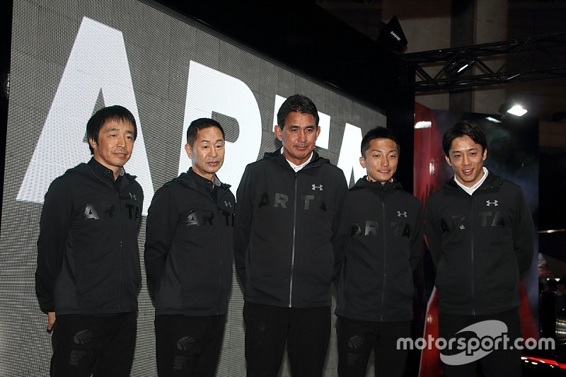 ARTAは2018年もNSX-GTとBMW M6で参戦、8号車に伊沢拓也が加入