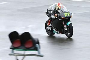 Moto2 Testverslag Eerste testdag Moto2 en Moto3 valt volledig in het water