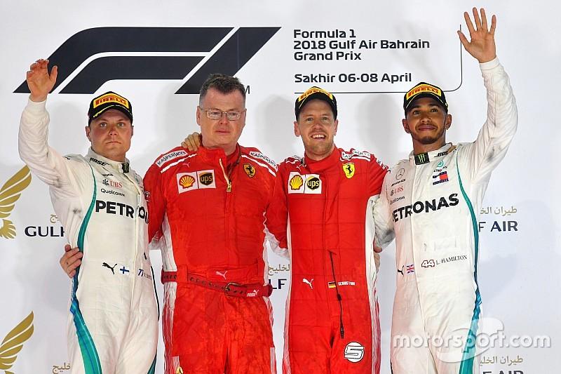 GP Bahrain: Vettel menangi duel mendebarkan lawan Bottas
