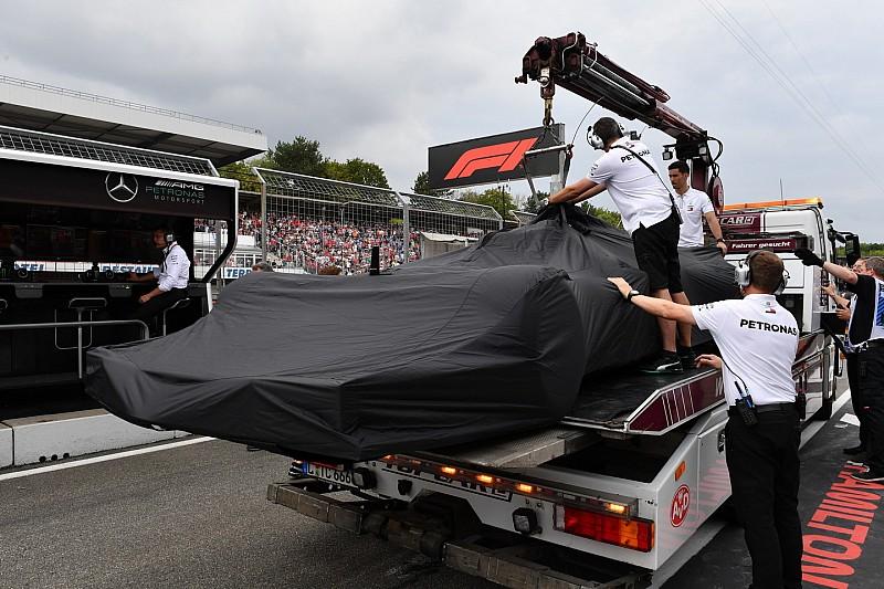 Défaillance en qualifs: Mercedes confirme la version de Hamilton