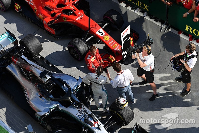 Hamilton e Vettel terão atualizações de motor em Spa