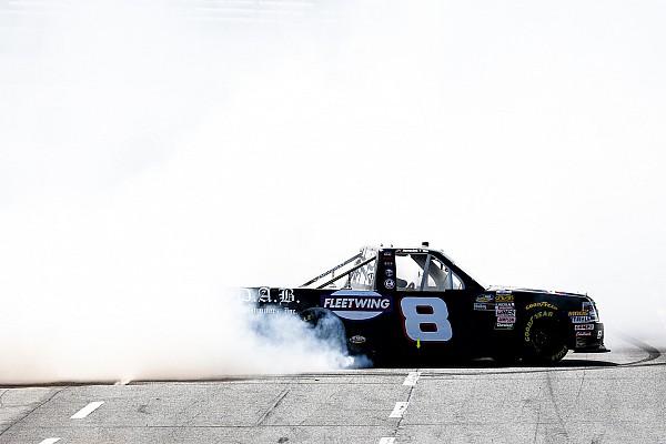NASCAR Truck Relato da corrida Nemechek segura Benjamin e vence prova da Truck Series