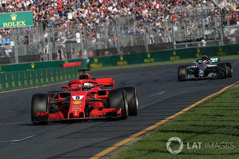 "Ferrari not yet ""a true match"" for Mercedes, says Vettel"