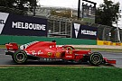 Formula 1 Australian GP: Vettel tops FP3 Ferrari 1-2 in drying conditions