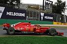 Формула 1 Две Ferrari и Эрикссон возглавили дождевую тренировку в Мельбурне