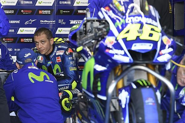 Rossi : Yamaha a des problèmes