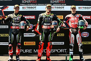 World Superbike Qualifying report Misano WSBK: Sykes beats Rea to pole by 0.033s