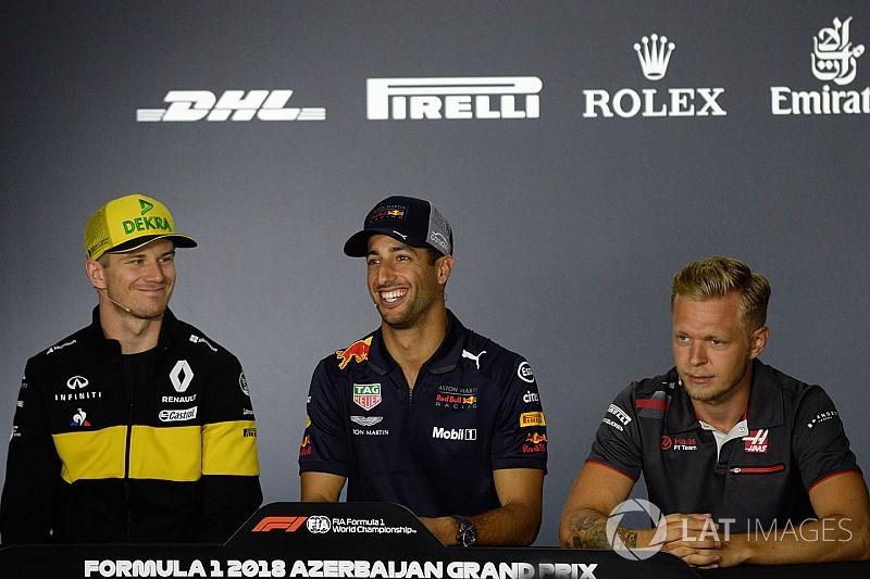 Azerbaijan GP: Thursday's press conference