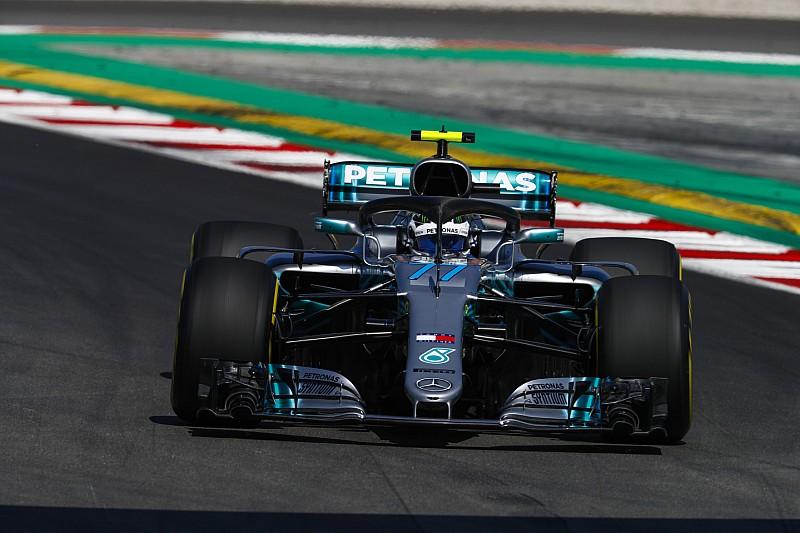 Гран Прі Іспанії: Боттас упевнено виграв перше тренування
