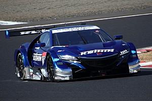Super GT Testing report Honda scores 1-2 on second Super GT test day