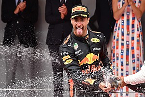 Monaco GP: Ricciardo wins despite engine problem