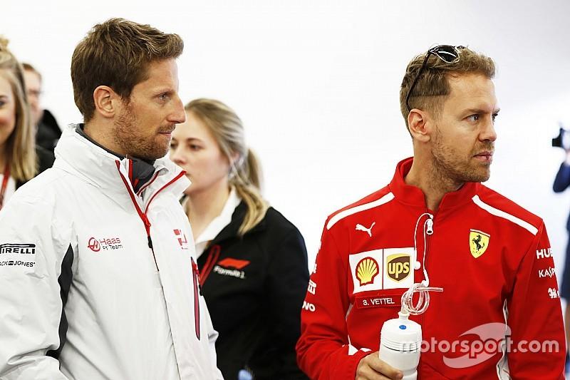 Grosjean niega haber ido a Haas pensando en ir a Ferrari