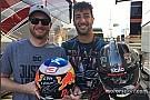 Fórmula 1 VÍDEO: Ricciardo tem primeiro contato com a Nascar