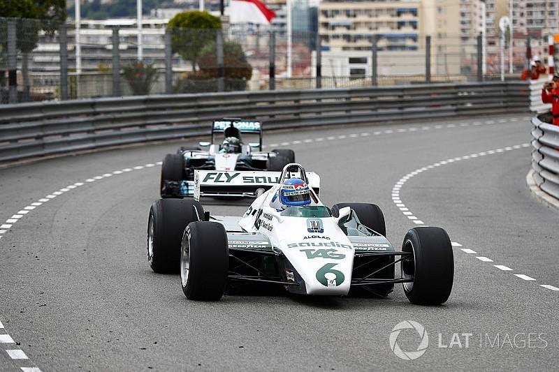 Bildergalerie: Keke und Nico Rosberg fahren ihre WM-Autos