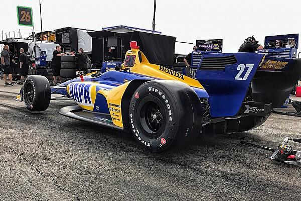 Alexander Rossi: IndyCar-Boliden durch Aeropaket viel besser