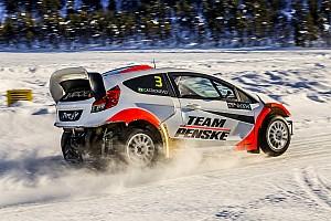 Rallye Reaktion IndyCar-Star Helio Castroneves von RallyX-Ausflug begeistert