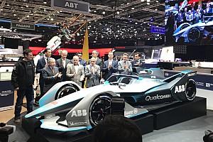 Formula E Breaking news Formula E tampilkan mobil 2018/19 di Geneva Motor Show