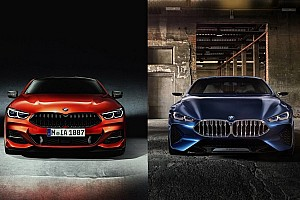 Automotive Breaking news How the new BMW 8 Series compares to the concept
