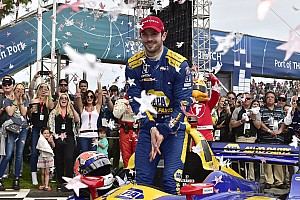 """IndyCar Breaking news Rossi has """"found his groove"""", says Andretti Autosport COO"""