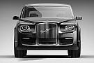 Auto Photos - Découvrez la nouvelle voiture de Vladimir Poutine