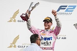 FIA F2 Reaktion Fast wie Vettel: So kam Günther zu seinem Formel-2-Podium