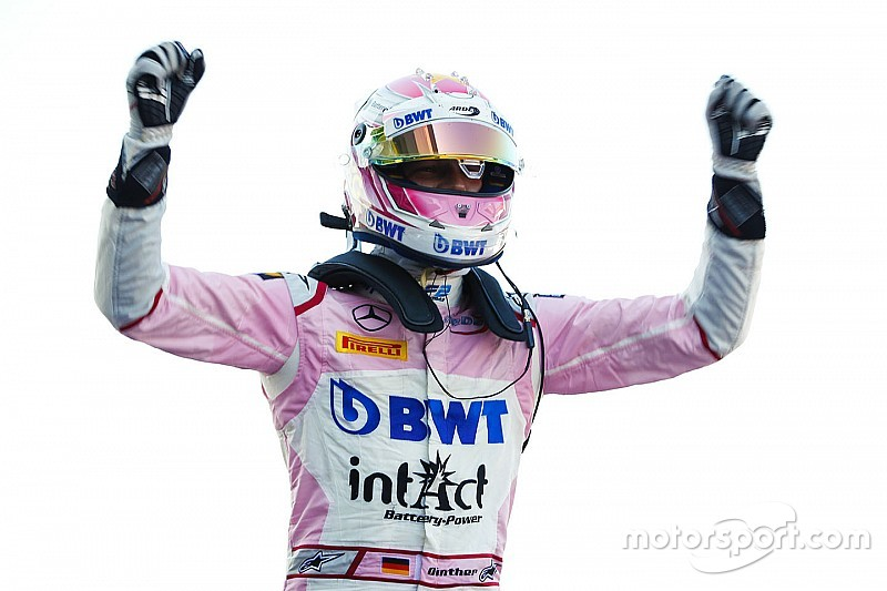 Silverstone F2: Gunther leads Russell, Norris for maiden win