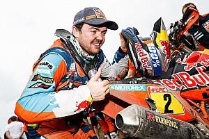 """Переможець мотозаліку """"Дакара"""" визнав, що йому пощастило"""