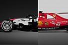 F1 Comparación: Ferrari 2017 con el Haas 2018