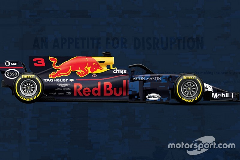 Comparativa entre el Red Bull 2018 vs 2017