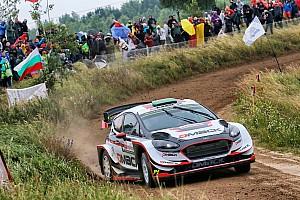 WRC Отчет о секции Эванс возглавил Ралли Польша