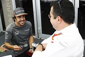 F1 Noticias de última hora Boullier, tranquilo por la renovación de Alonso: