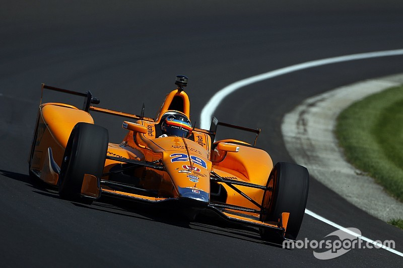Indy 500: Alonso luchará por la pole