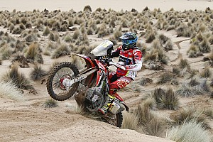 Dakar Breaking news Honda appeals one-hour Dakar refuelling penalties