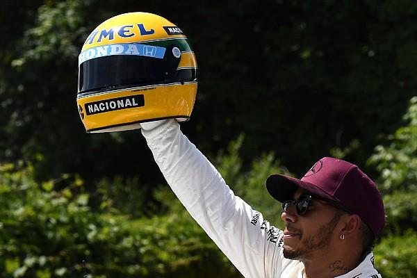 Fórmula 1 Hamilton: Se dissessem que igualaria Senna, acharia loucura