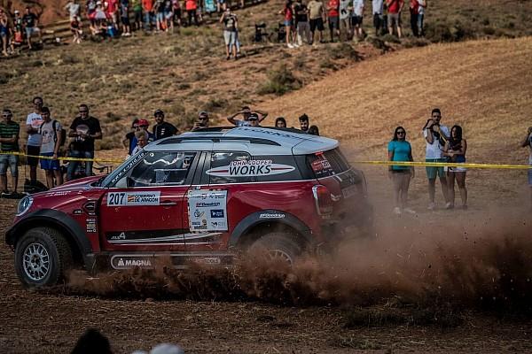 Cross-Country Rally Resumen de la etapa Hirvonen es el líder en la Baja Aragón