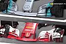 Videoanálisis: los diferentes conceptos de Mercedes y Ferrari