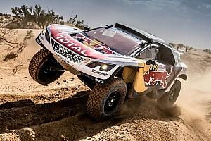 Rallye-Raid Rapport d'étape Maroc, étape 4 - Soucis chez Peugeot, Al-Attiyah leader