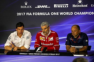 Formula 1 Press conference Italian GP: Friday's press conference