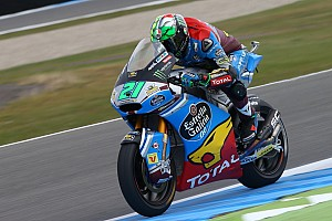 Moto2 Reporte de calificación Morbidelli saldrá primero en la carrera de Moto2; Márquez, octavo