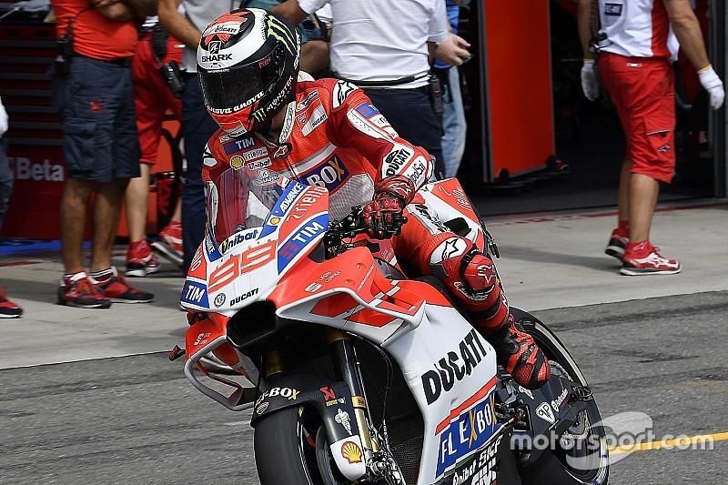 Lorenzo: Pit stoplar F1 tarzı olmadığı sürece güvenli değil