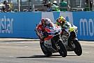 MotoGP Dovizioso en délicatesse avec son pneu arrière